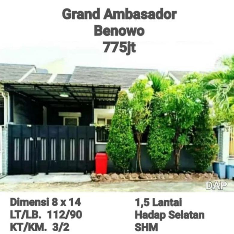 Rumah Grand Ambasador Benowo surabaya barat siap huni
