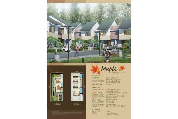 Rumah Baru 2 Lantai Cluster Oakwood di Mutiara Gading CIty Bekasi 14318010