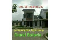 Grand Batavia cluster 2Lantai Hook/ lebih tanah Dp. dicicil 15bulan