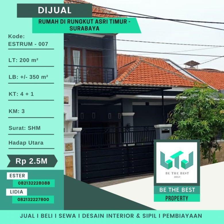 DIjual Rumah di Rungkut Asri Timur - Surabaya