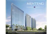Murah Banget Menteng Park Sapphire Tower Lantai 7 Harga 1,5 M Nego 1 BR