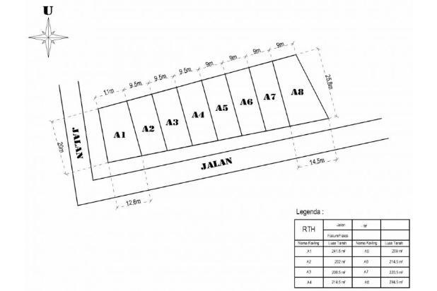 Kapling Prambanan, Ratusan Meter Ke Jl. Solo Km. 15 14371408