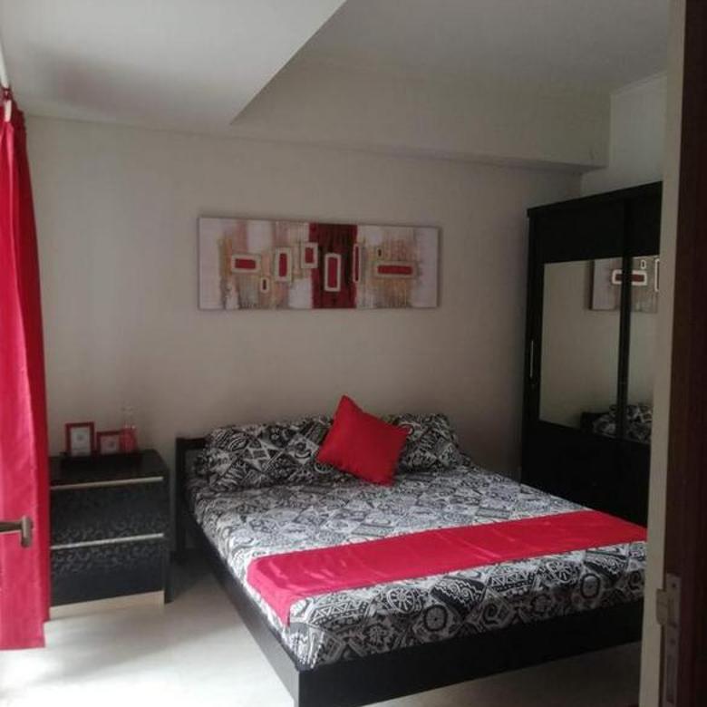 Apt Royal Mediterania 2 bedrooms furnished tower marigold bagus