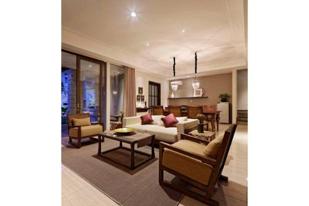 Rumah mewah 4 kamar perabot lengkap