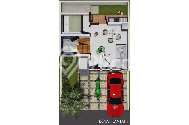 hunian dengan lokasi strategis indah nyaman&mewah exclusive dengan 2 lantai 16225397