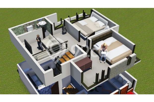 hunian dengan lokasi strategis indah nyaman&mewah exclusive dengan 2 lantai 16225398