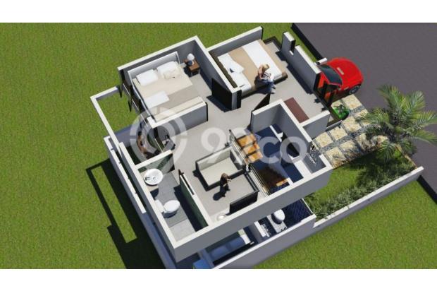 hunian dengan lokasi strategis indah nyaman&mewah exclusive dengan 2 lantai 16225400