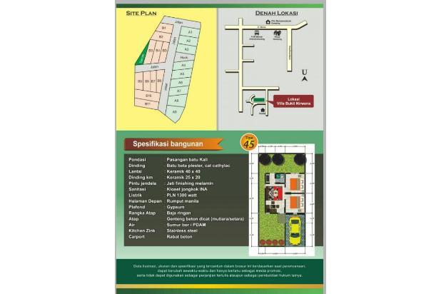 villa bukit nirwana promo 340juta type 45/126 17995603