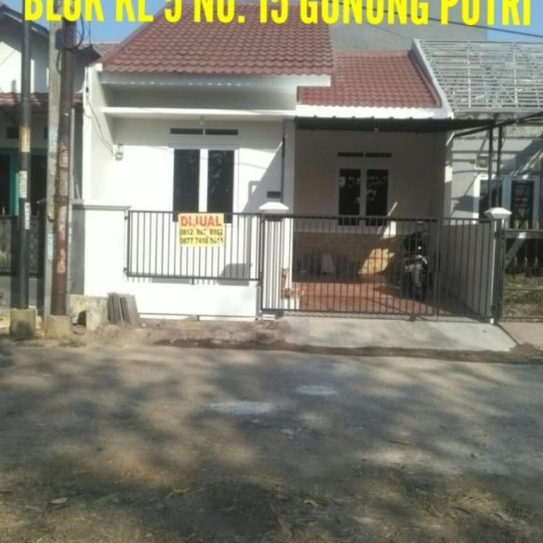 Rumah Siap Huni Villa Nusa Indah 3 Bojong Kulur
