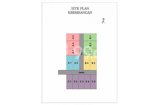 Rumah KPR TANPA DP di Krembangan, Angsuran Murah 14417661