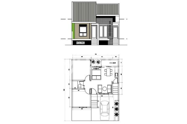 Rumah Konsep Urban Farming di The Green Setiabudhi 15074260