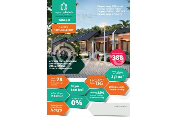 Rumah Konsep Urban Farming di The Green Setiabudhi 15074267