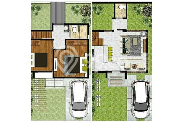 Rumah Konsep Urban Farming di The Green Setiabudhi 15074268