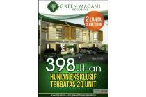 green magani rumah 2 lantai paling murah di pamulang bisa kpr