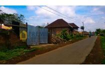 Tanah Luas Pinggir Jalan Include Gudang, Mendalang, Wagir