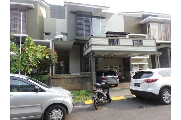 Rumah baru minimalis apik di cluster Kebayoran Terrace Bintaro 7340293