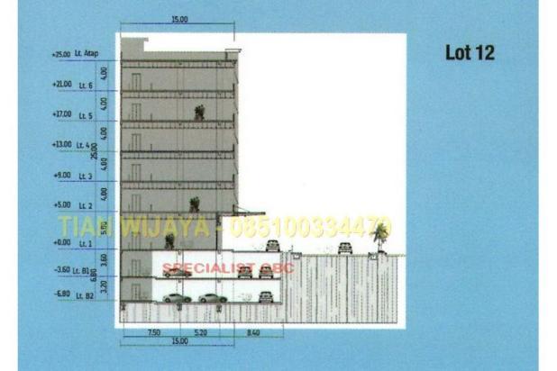 DIJUAL Boutique Office Building di Cengkareng Business City (CBC) 6 Lantai 7074594