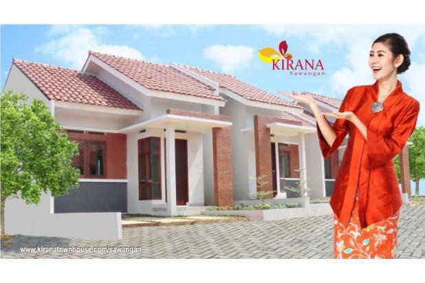 Rumah Real Estate dan One Gate System DP 10 Juta di Kirana Townhouse 15146573