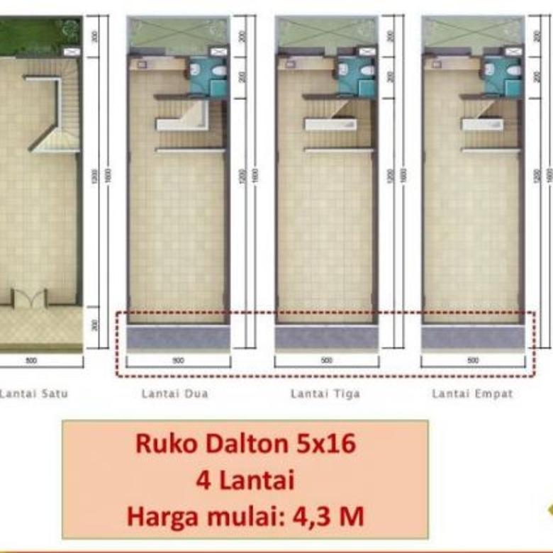 Investasi menguntungkan Ruko Dalton di Sumarecon Serpong