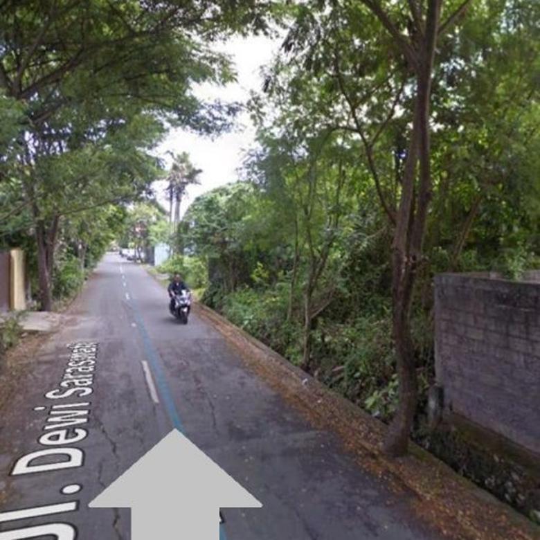 Tanah Strategis Di Jl.Kunti Kuta Sangat Cocok Untuk Vila