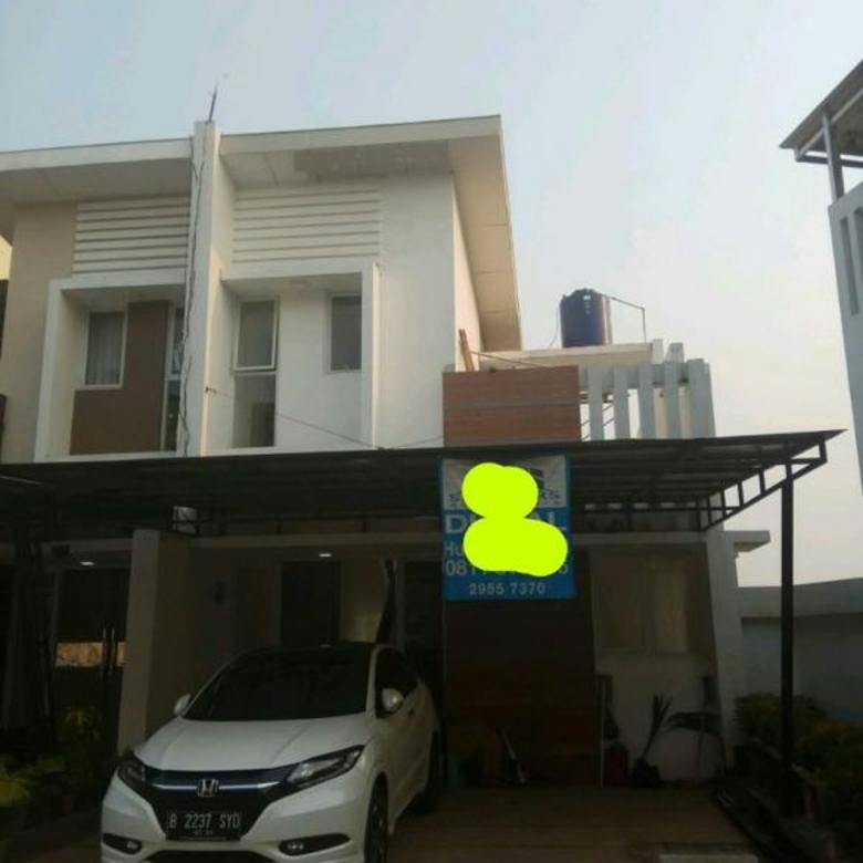 Rumah di Cinere, Baru 3Lt, Townhouse Baru dlm Mega Cinere