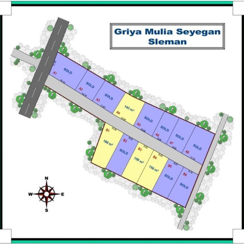 Tanah SHM Siap Bangun Area Sleman Kota, Profit 30%