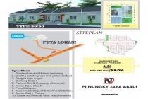 Perumahan subsidi Nungky residence hills