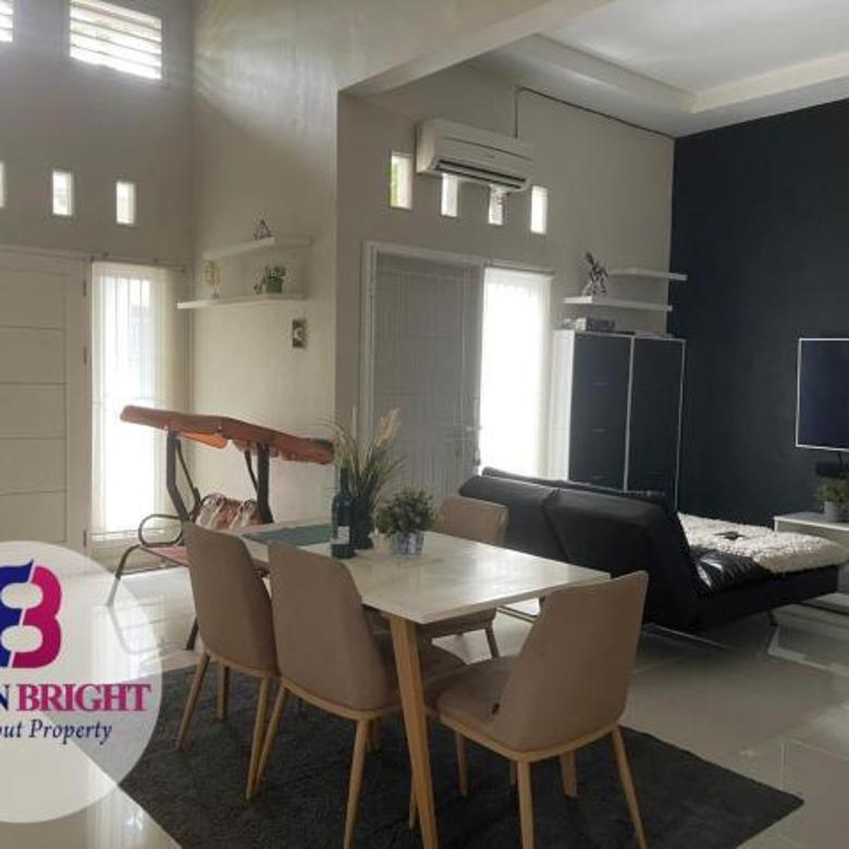 Rumah cantik sudah renovasi, siap huni, di Kavling Deplu, Pondok Aren, Tangsel.