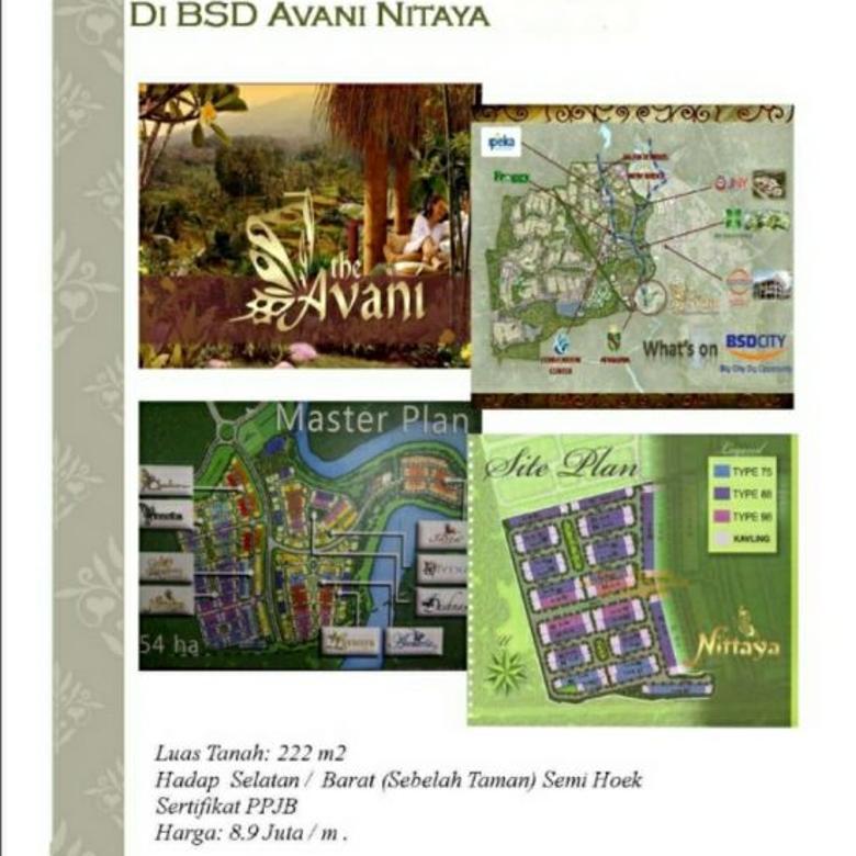 Kavling Avani BSD
