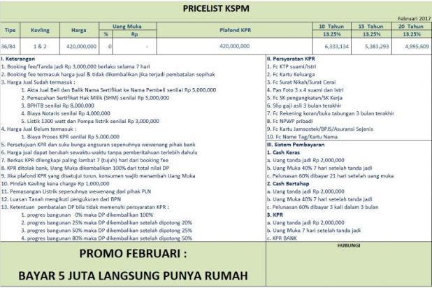 Rumah Dijual Mampang Depok Bisa KPR DP Suka-suka 10332602