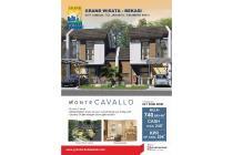 Dijual Rumah Baru Strategis di Cluster Monte Cavallo Grand Wisata Bekasi