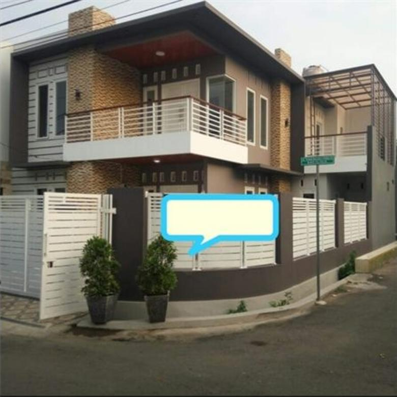 Dijual Rumah Murah Pondok Kelapa Jakarta Timur. Rumah Baru Lokasi Strategis