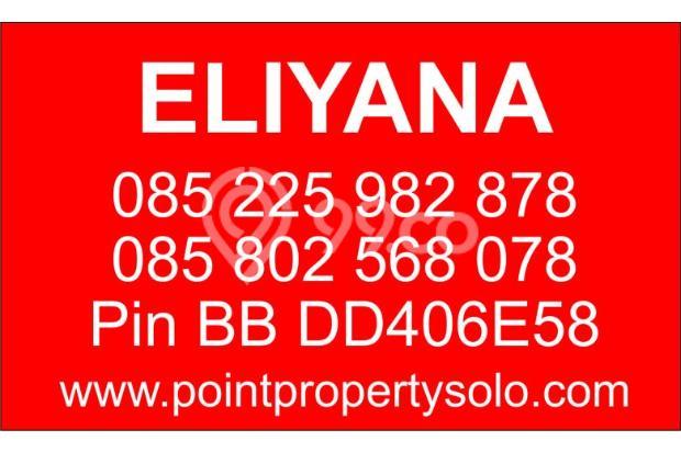 Dijual Rumah Baru Free Pagar & Canopy di Sawahan Boyolali 15146436