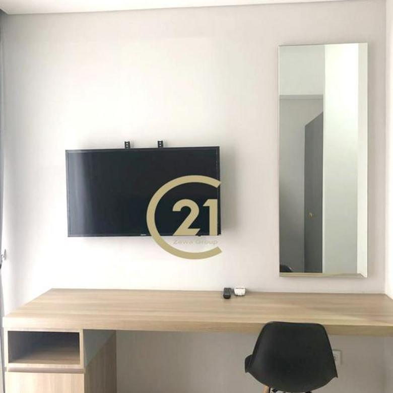 Apartemen Taman Anggrek Studio Full Furnished Lantai Rendah View Pool