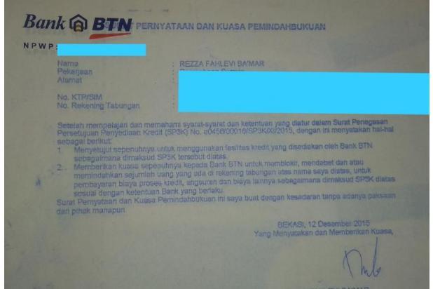 Oper Kredit Villa Kencana Cikarang 17825866