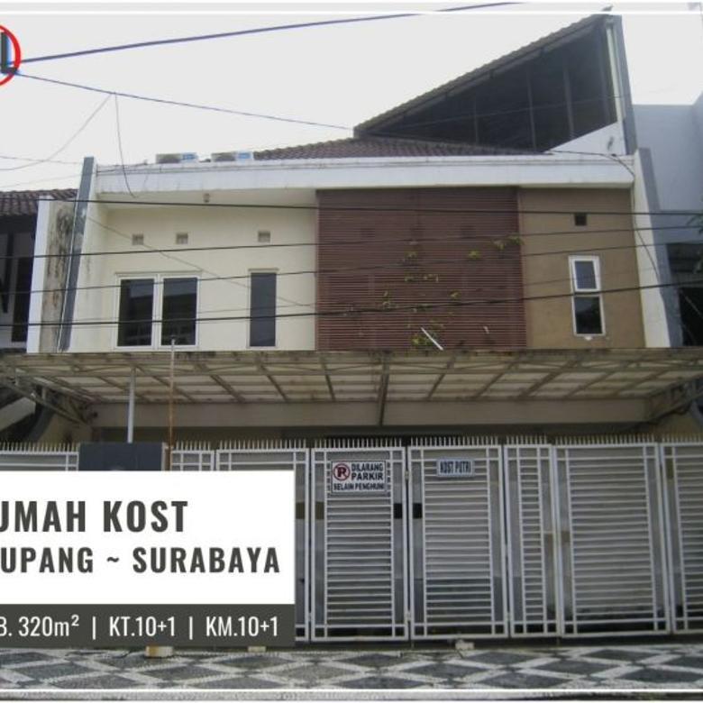 Rumah Kost Dukuh Kupang, Surabaya ~ 10 Kamar   Furnished