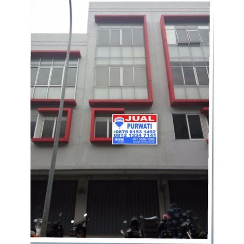 Ruko City Square Kalideres. Kondisi bangunan baru
