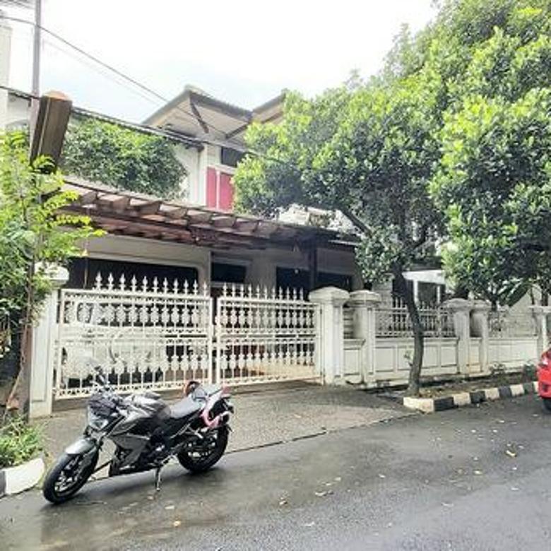 Rumah di Kompleks Bumi Karang Indah, Lebak Bulus, Jakarta Selatan, Dekat MRT Lebak Bulus, Hadap Timur