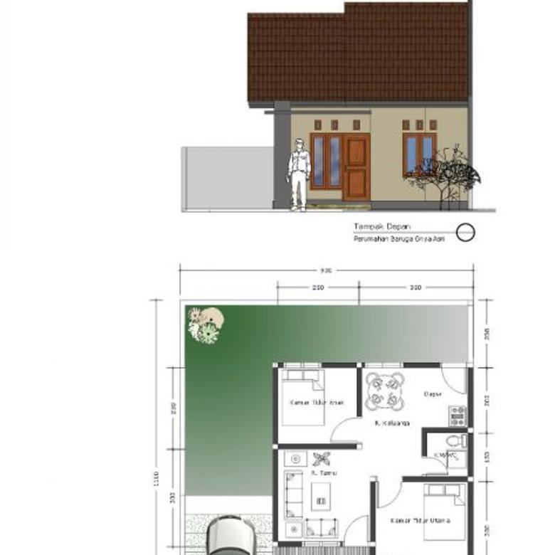 Rumah Subsidi di Kota Kendari. DP 1 juta Akad 4 juta