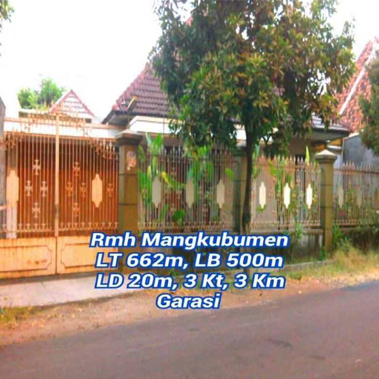 Rumah LT 662m di Mangkubumen Surakarta