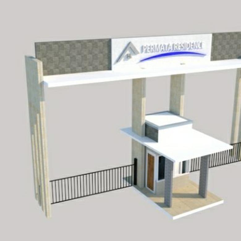 Jual Permata Residence Murah Meriah DP Rp0 Gratis Biaya Surat
