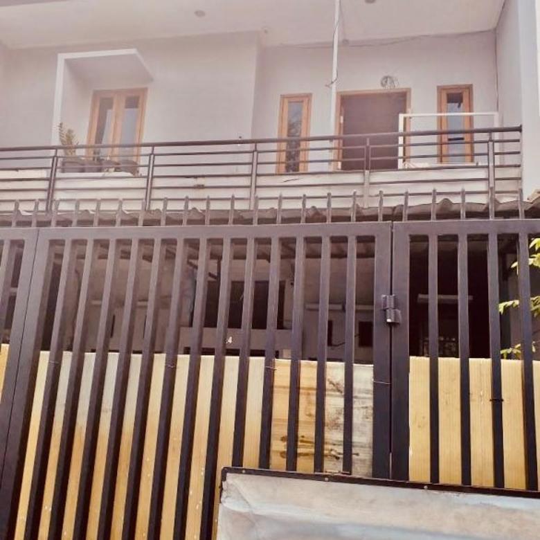 rumah 2 lantai bisa usaha di mainroad jl sriwijaya, bkr regol