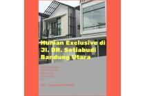 Rumah Daerah Bandung Utara Mewah Fasilitas lengkap, Strategis
