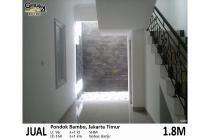 Rumah Baru Pondok Bambu Jakarta Timur lt96