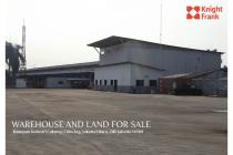 Warehouse and Land For Sale at cilincing, Jakarta Utara