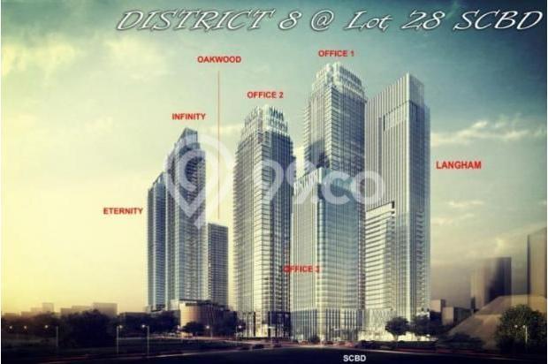 Dijual Apartemen District 8 Senopati Murah Unfurnished 13427076