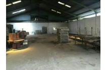 Bekas gudang / pabrik di Tambak Sawah Waru Sidoarjo