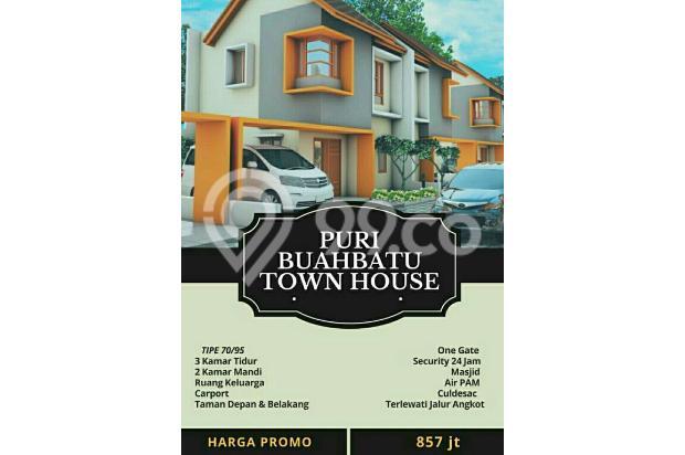 Rumah dijual di dekat Tol Buah Batu hanya 800 jutaan 17935123