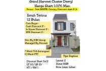 Rumah baru Grand Harvest surabaya
