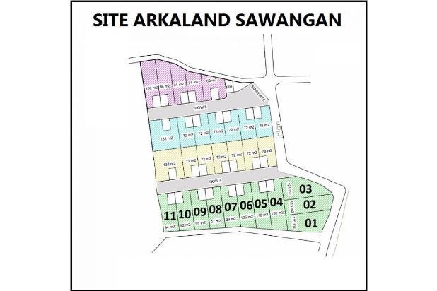 Tanah Kapling Dekat Satasiun KRl, Green Arkaland 14419182